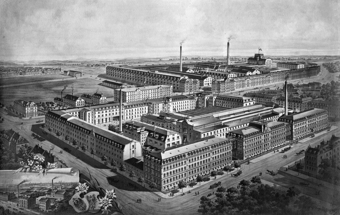 EAG Nuremberg plant, 1900