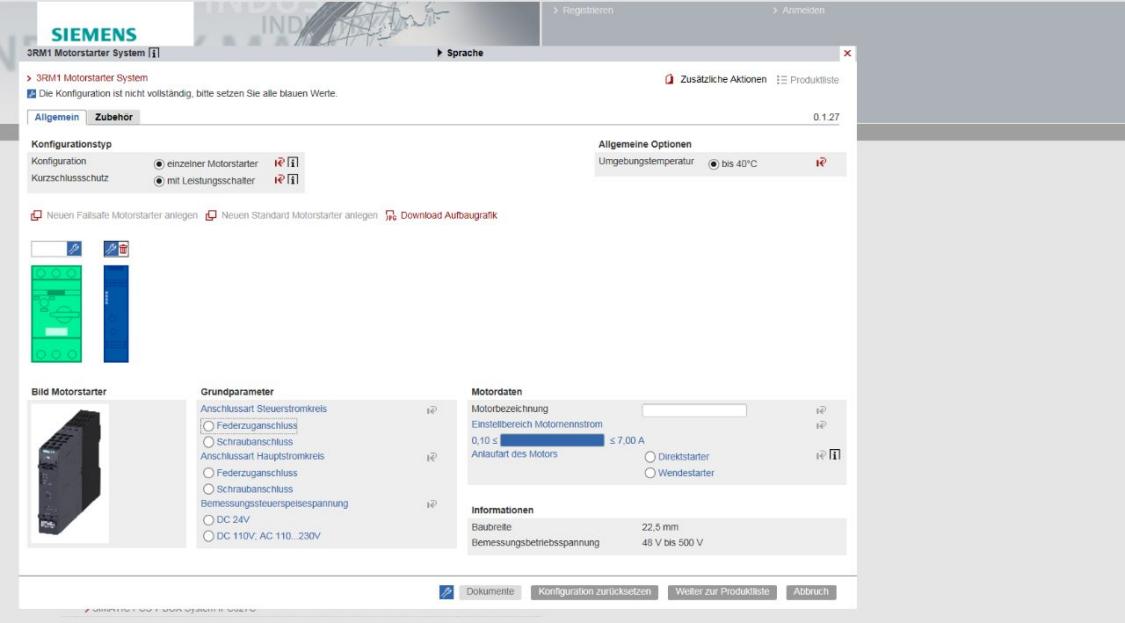 西门子工业产品网上商城中的选型工具一览