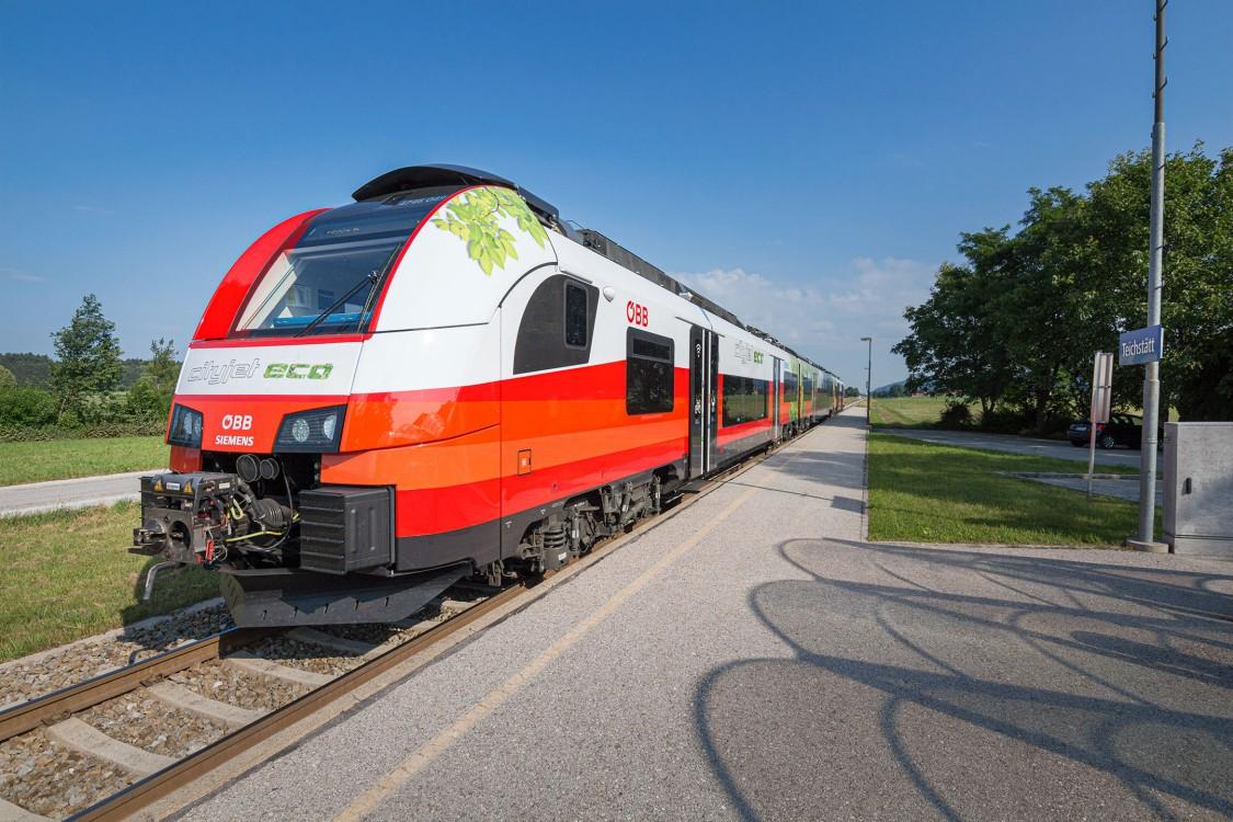 Mit dem Cityjet-Eco kam Innovation in ganz Österreich auf Schiene