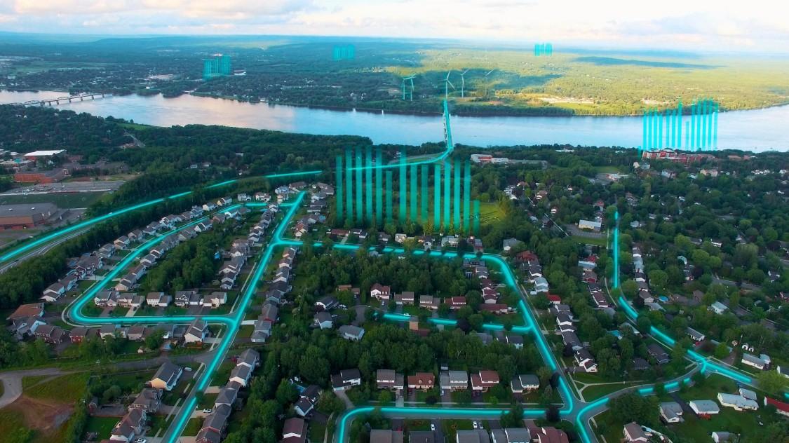 Stroom voor Canadese provincie - New Brunswick Power