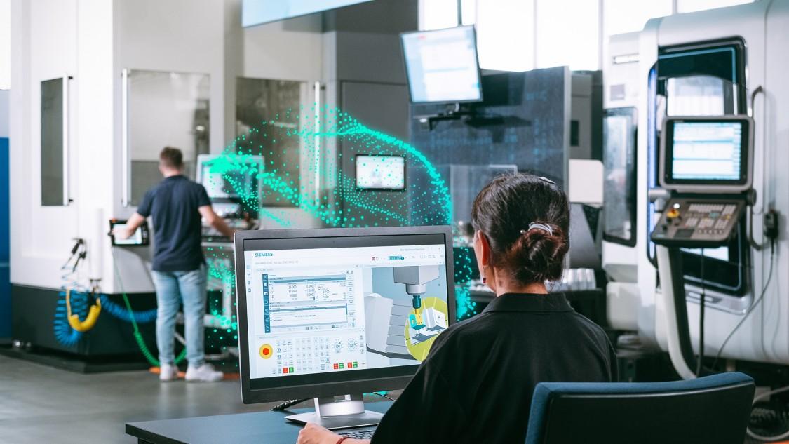 Key visual SINUMERIK CNC automation system