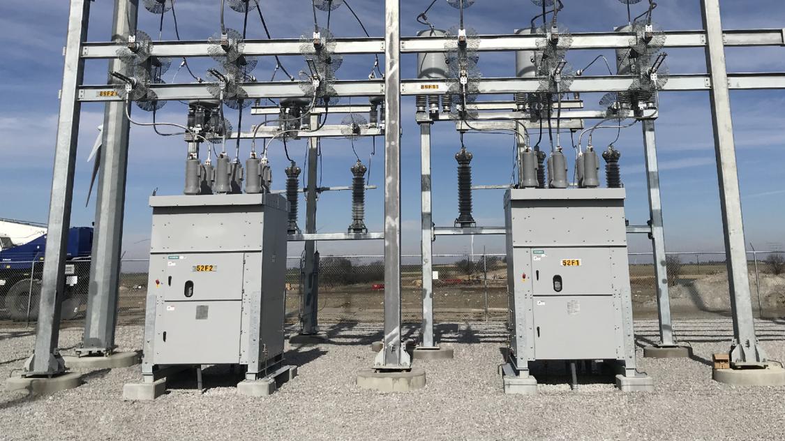 SDV-R non-arc-resistant distribution circuit breakers substation installation