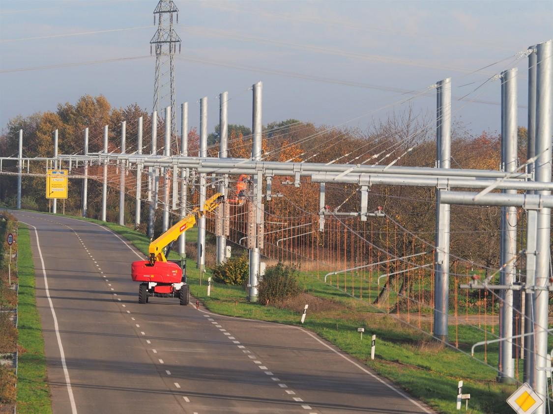 Kolejna elektryczna autostrada eHighway otwarta w Niemczech