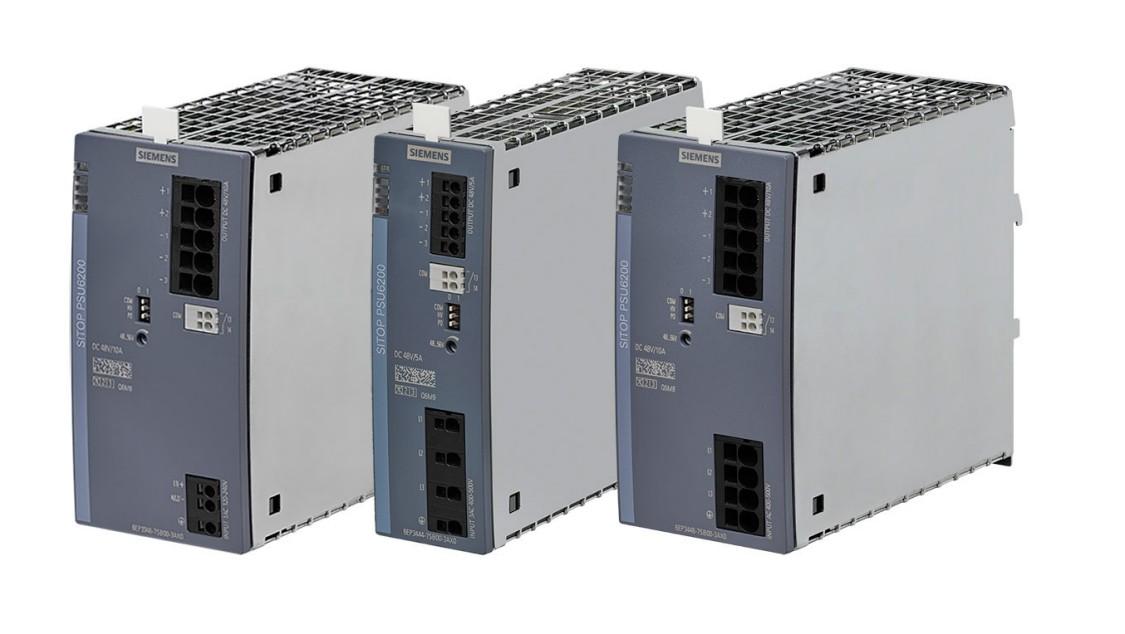 SITOP PSU6200: drei  neue 48-V-Varianten