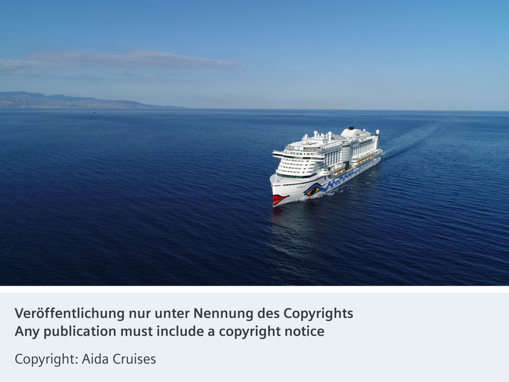 Ninth Aida ship to be equipped with Siemens technology
