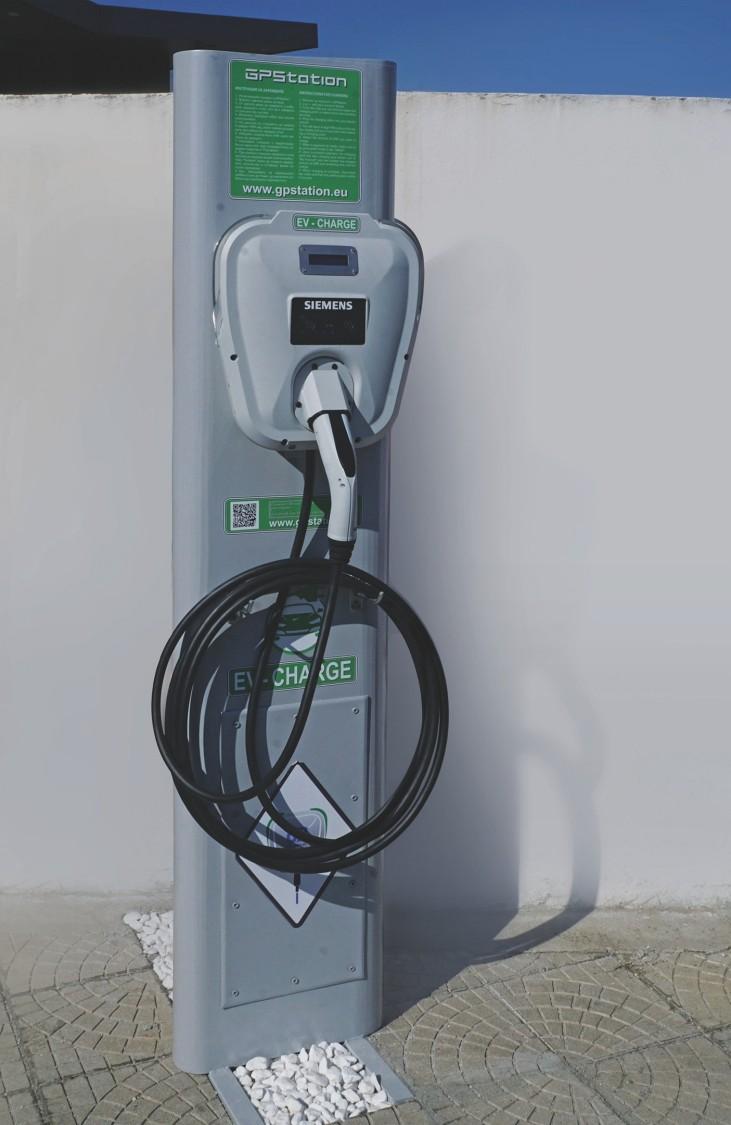 charging station GPStation Sofia