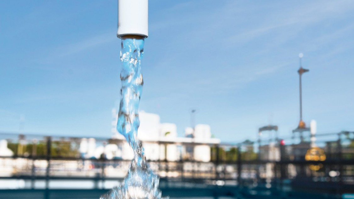 Solutions for providing drinking water of the highest possible quality
