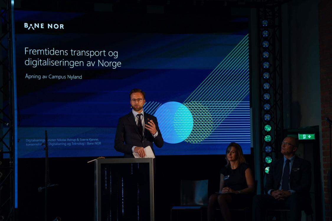 """Nikolai Astrup, Minister für Digitalisierung über """"Die Zukunft des Verkehrswesens und Digitalisierung von Norwegen"""""""