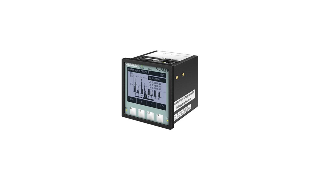 Analizator parametrów sieci SICAM P850