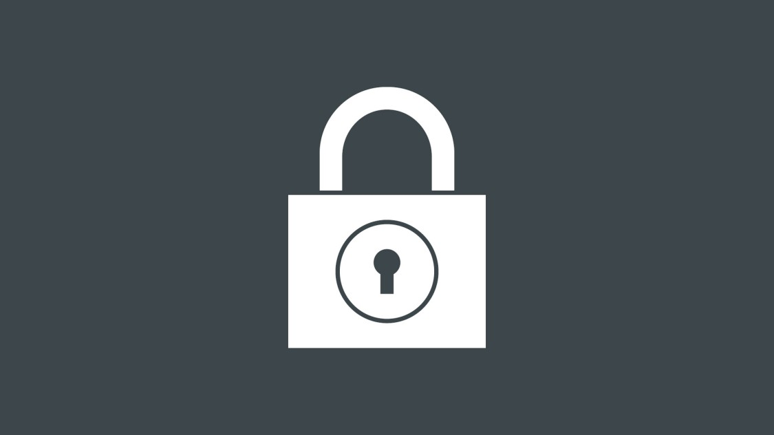 Icon for security with SINEC NMS: a security lock.