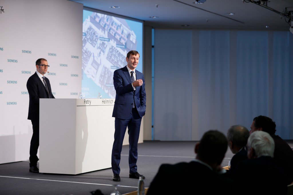 Press conference at the SPS IPC Drives 2018