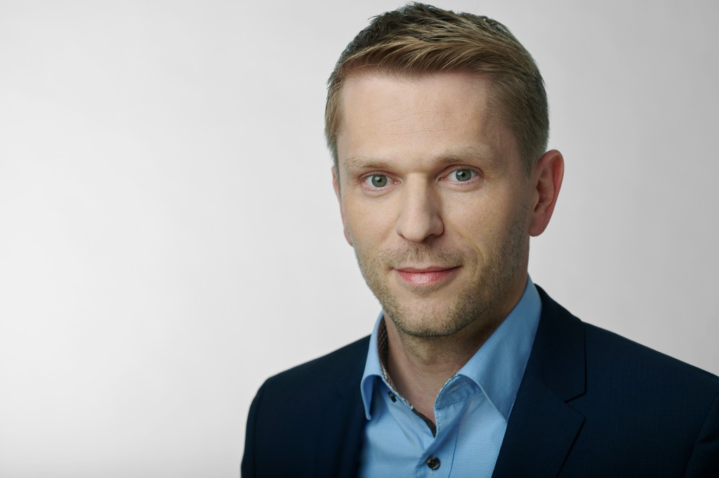 The picture shows Henning Sandfort (42) CEO of the Control Products and Systems (CPS) business unit at Siemens