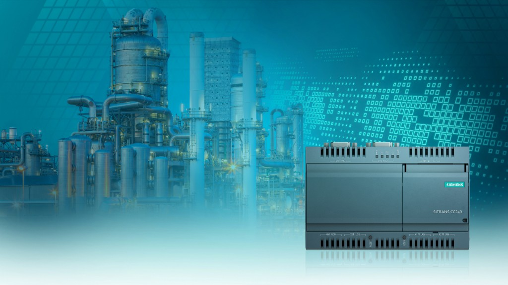 Simply digital: Siemens process instrumentation presents new Sitrans CC240 IOT gateway