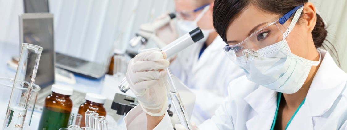 Drugs are developed and tested under strictly regulated working conditions.