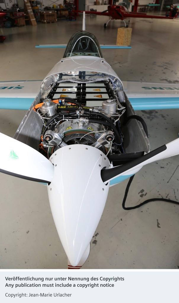 Elektromotor von Siemens ermöglicht neuen Geschwindigkeitsrekord
