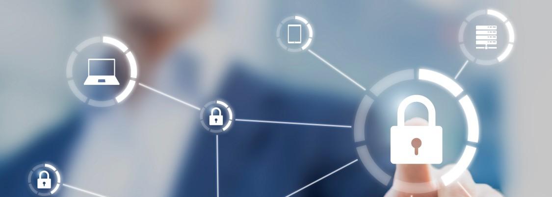 USA | Padlock representing cyber-security