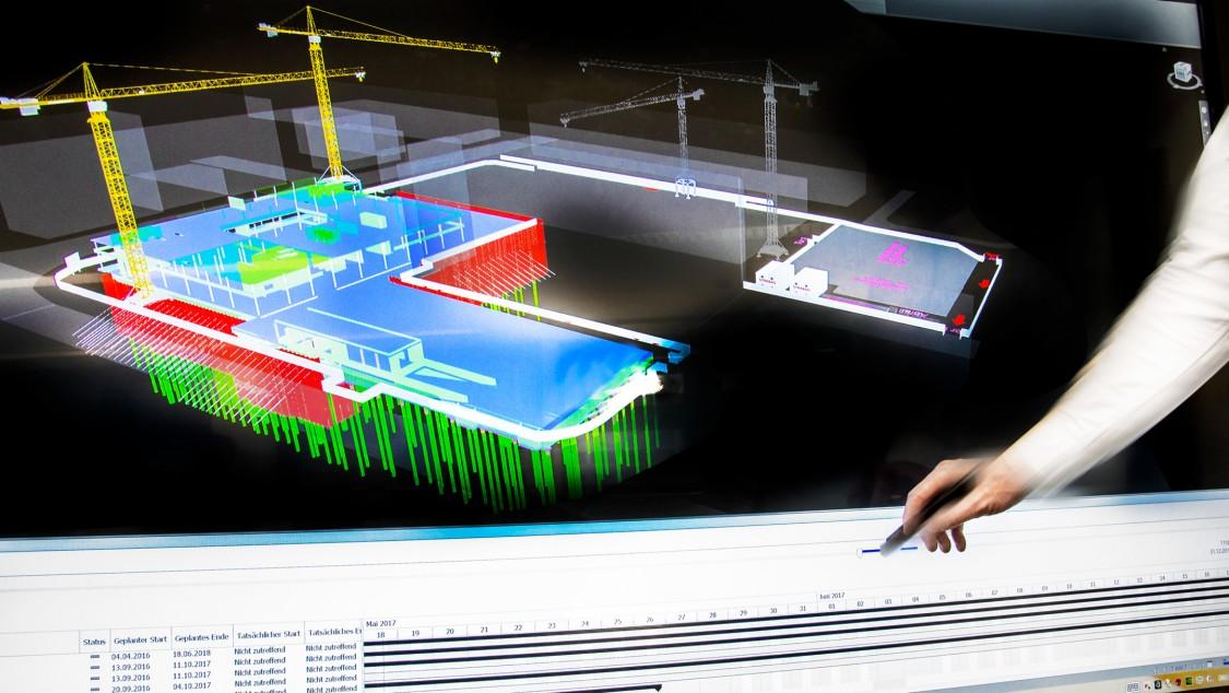 Digital twin van Siemens Building Technologies