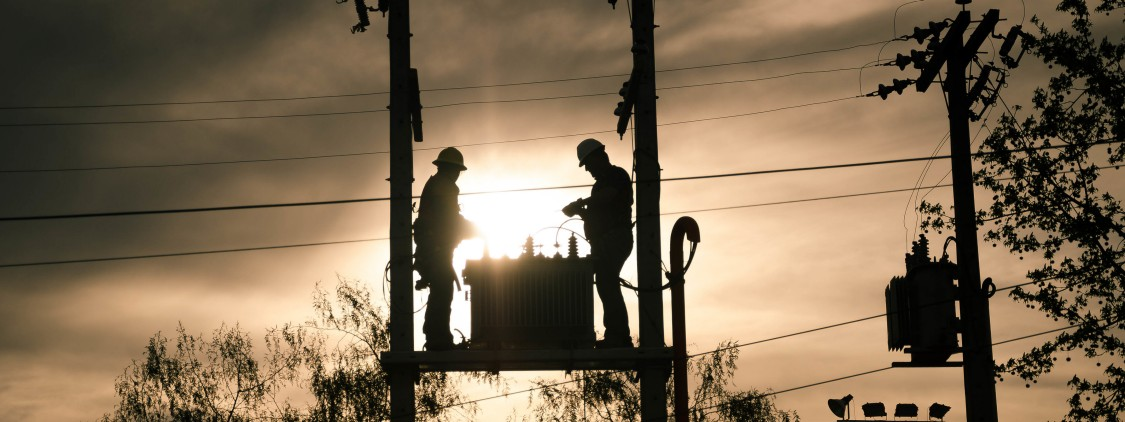 Pole mounted transformers are a common sight in many countries.