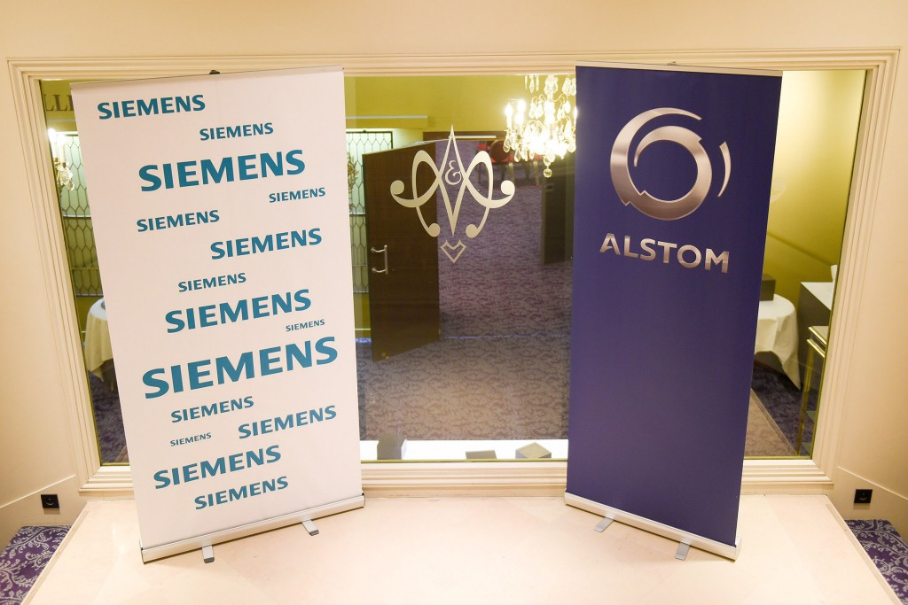 Press conference Siemens and Alstom