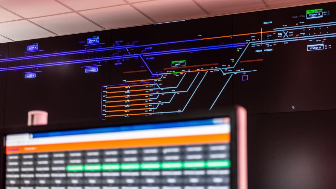 Controlguide OCS/TMS for mass transit