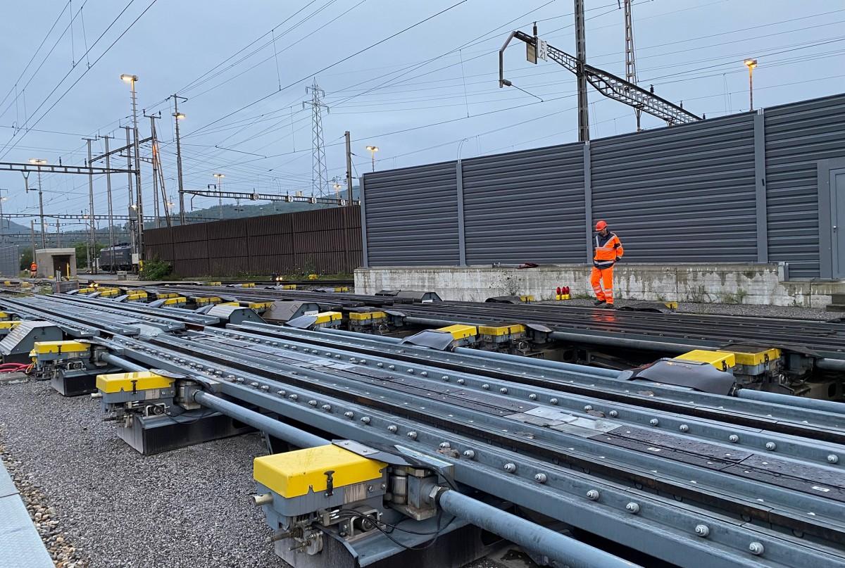 Basel Rangierbahnhof II nach Teilmodernisierung in Betrieb genommen