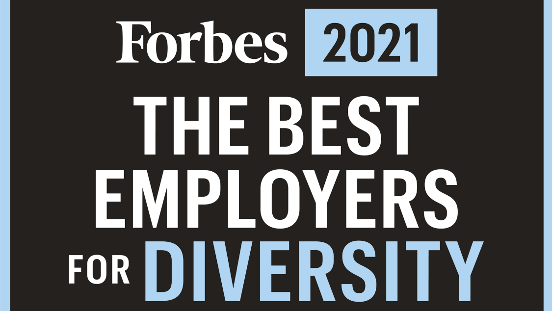 Forbes The Best Employers for Diversity 2021