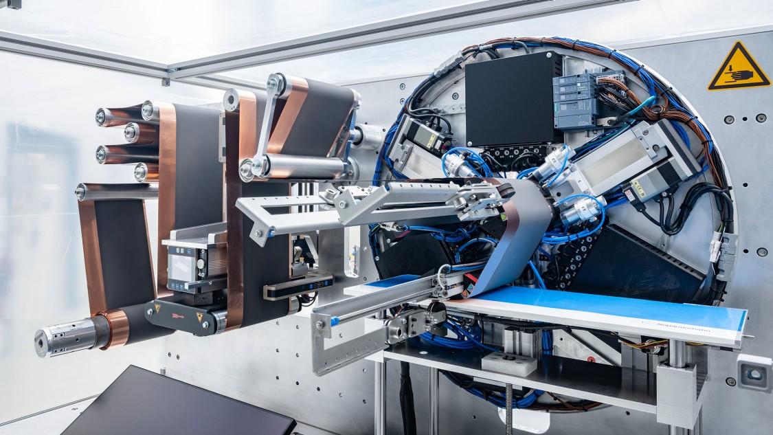 Batterie KIT Stacking Machine Coil2Stack demonstrator