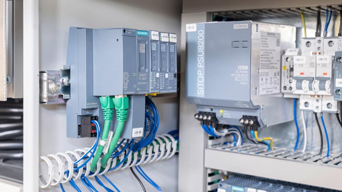 Schaltschrank mit Siemens Komponenten