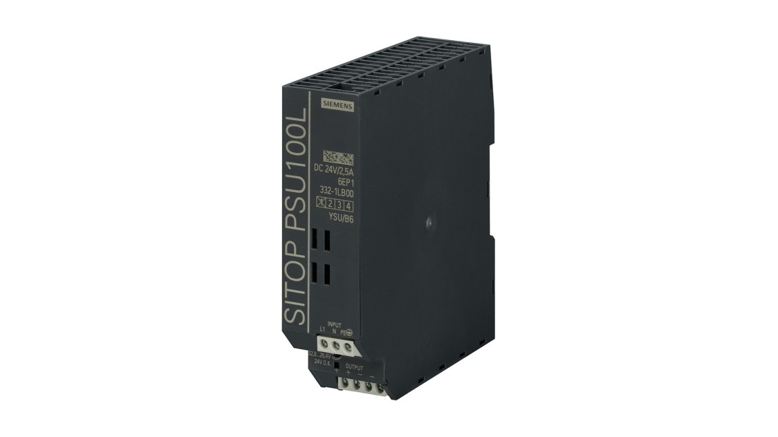 Product image SITOP PSU100L, 1-phase, DC 24 V/2.5 A