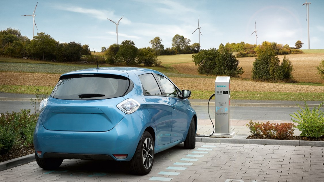 Charching system e-car