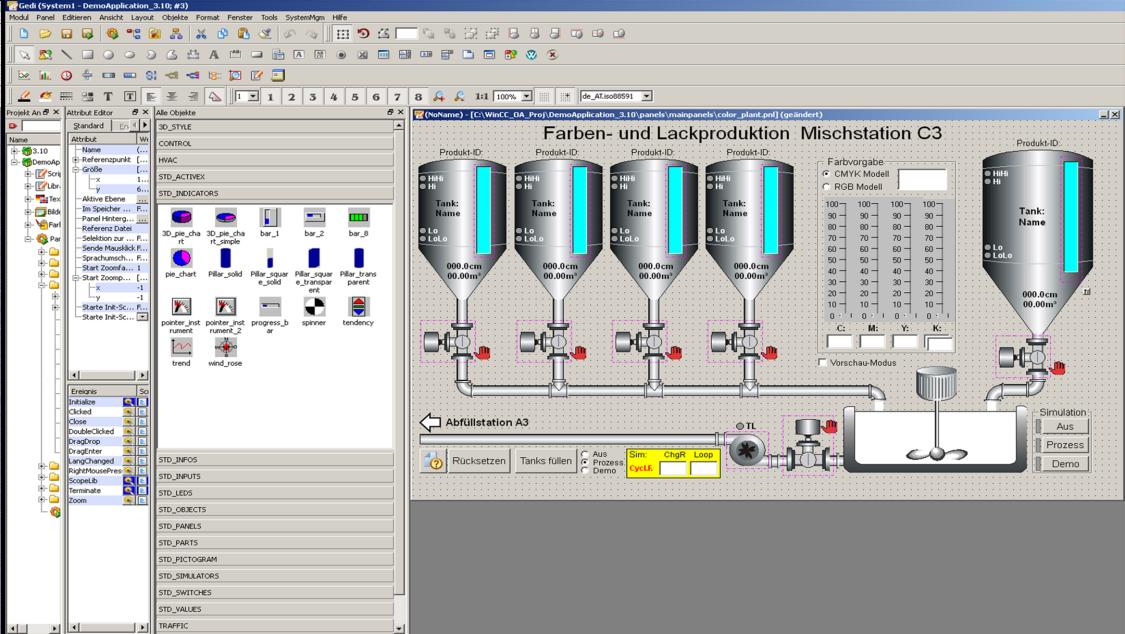 WinCC Open Architecture - Basic Software   SIMATIC WinCC