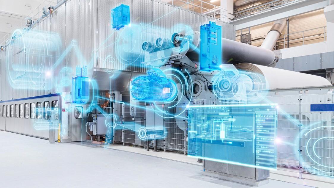 servomotors for paper industry