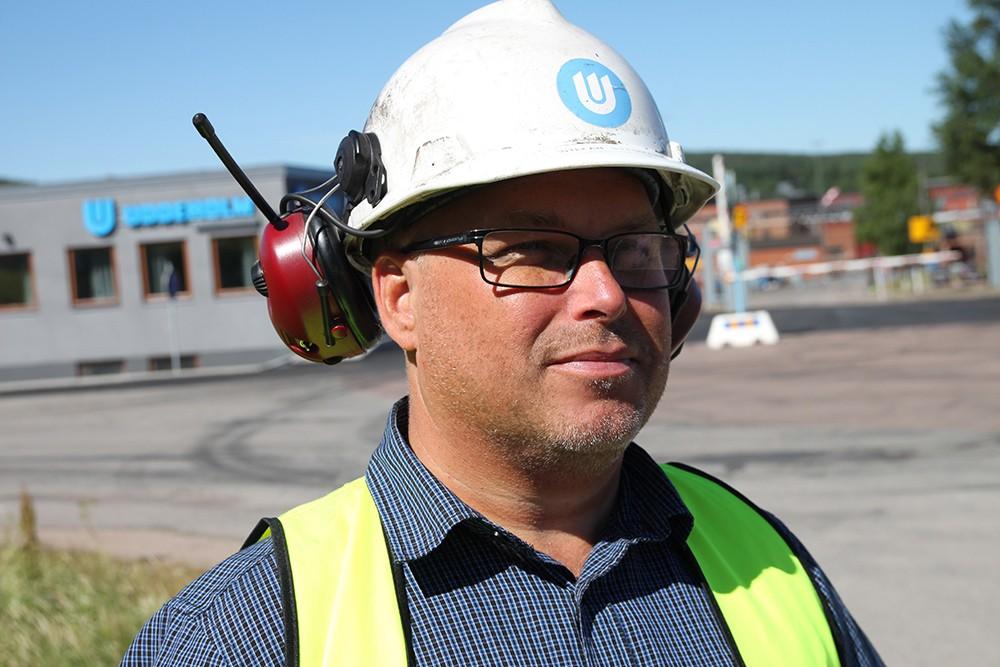 Stefan Stenmark, projektingenjör på Uddeholm.
