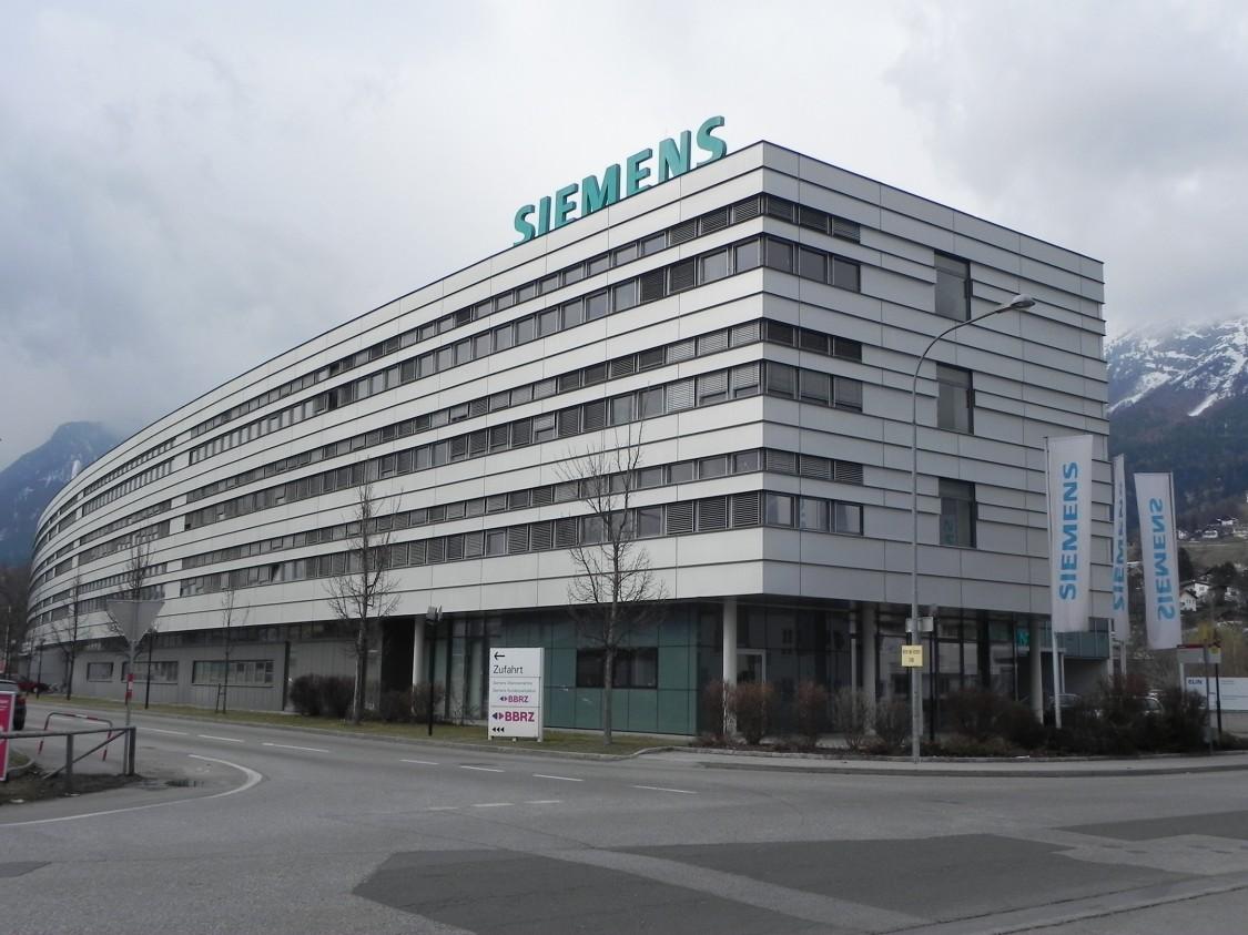 Die Siemens Niederlassung Innsbruck