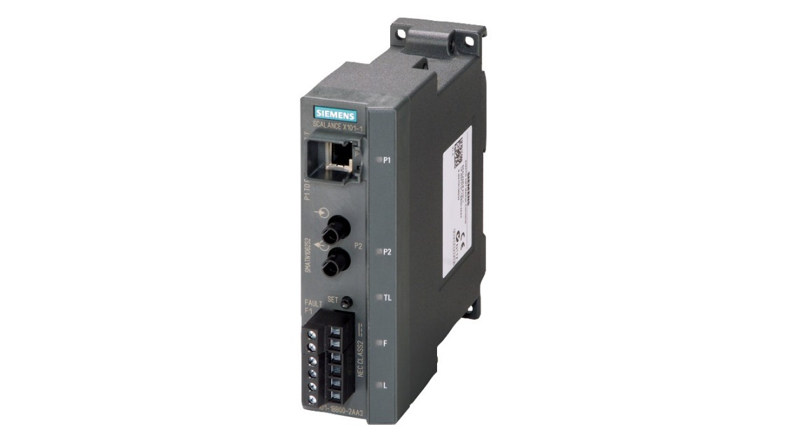Image of a SCALANCE X-100 media converter