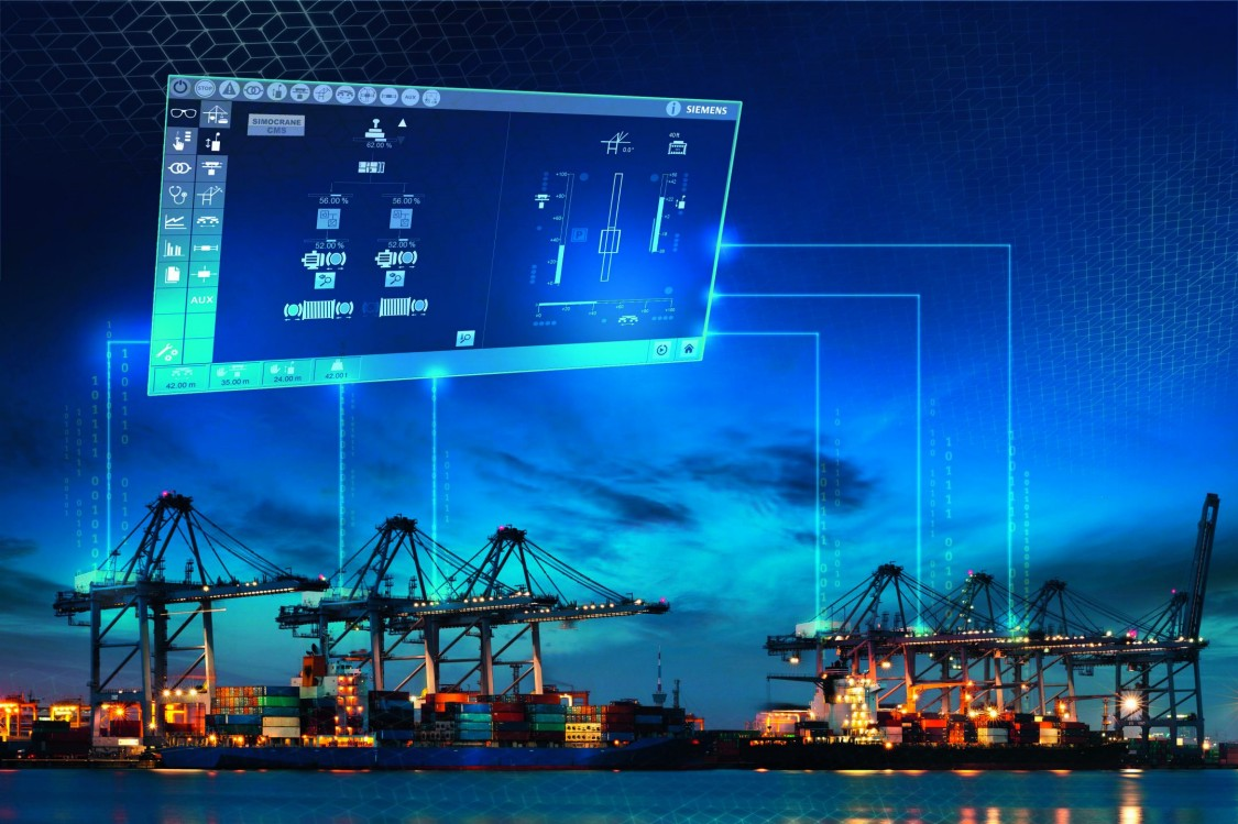 Key visual Harbor Cranes Crane management system