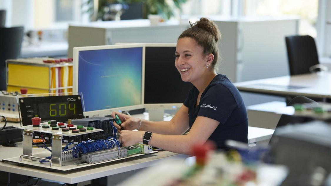 Arbeiten bei Siemens - Wir haben eines der besten Ausbildungssysteme der Welt.
