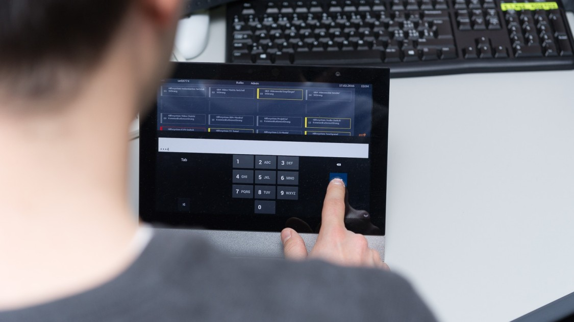 Software überwacht die Tunneltechnologie
