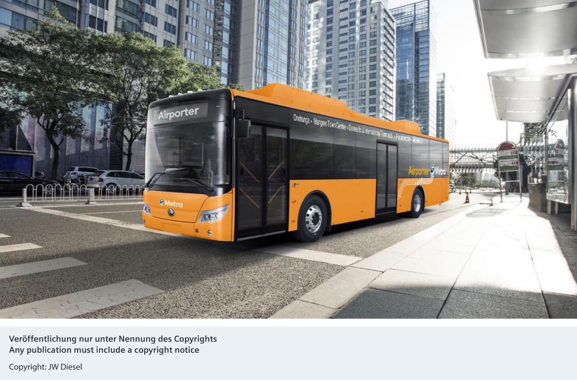 A Siemens e-buszok töltési infrastruktúrájával támogatja a szén-dioxid-kibocsátás csökkentését Új-Zélandon