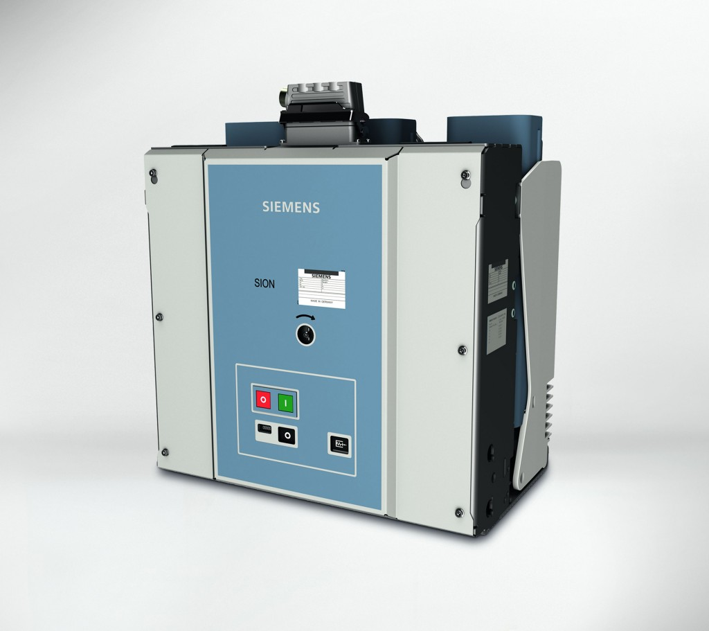 The picture shows the Sion 3AE5 vacuum circuit breaker.
