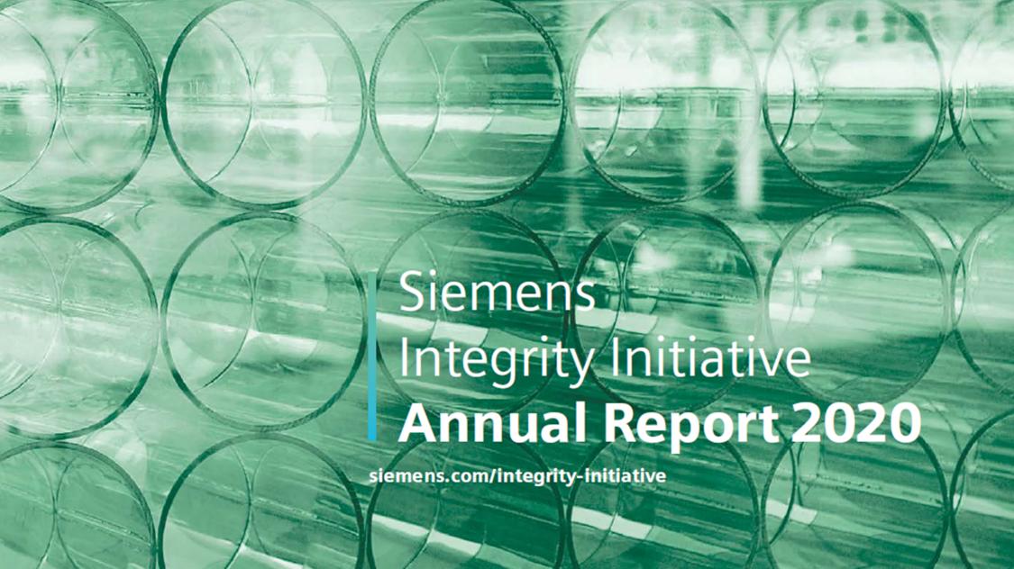 Siemens Integrity Initiative – Annual Report 2020