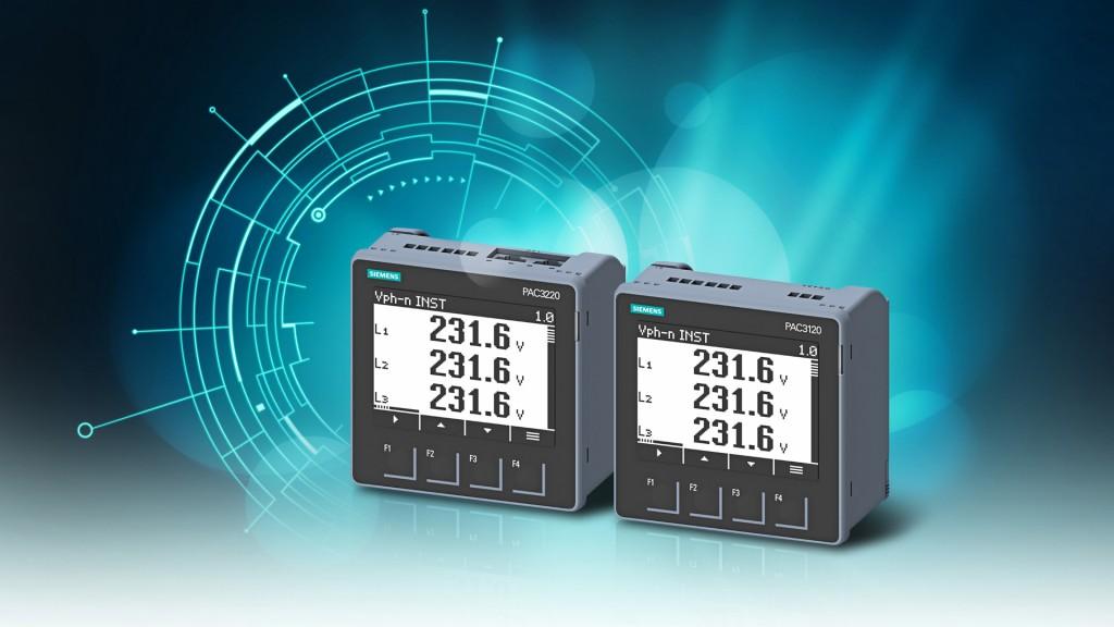 Neue Siemens Messgeräte erfassen Energiedaten mit höherer Genauigkeit