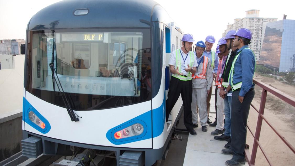 Press release: Metro Rail Gurgaon