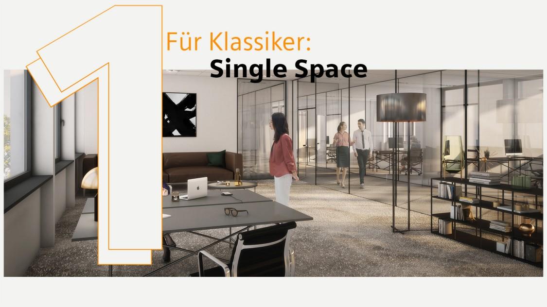 Einleitung Single Space - für Klassiker
