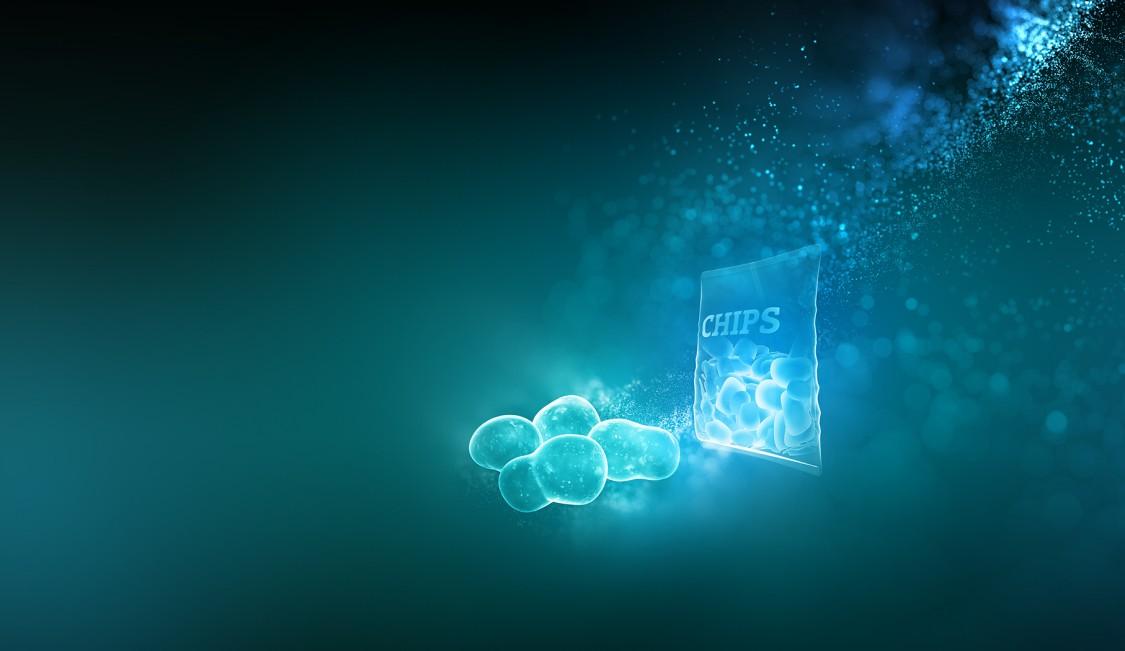 Am Beispiel einer Chipsproduktion zeigen wir, wie Blockchain-Technologie in der Nahrungs- und Genussmittelindustrie die vollständige Nachverfolgbarkeit ihrer Produkte sicherstellen kann, um das Vertrauen der Verbraucher in Marke und Waren zu verbessern.