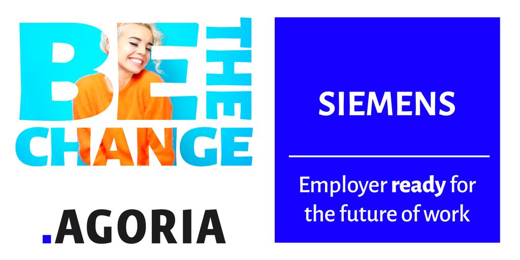 Agoria Be The Change logo