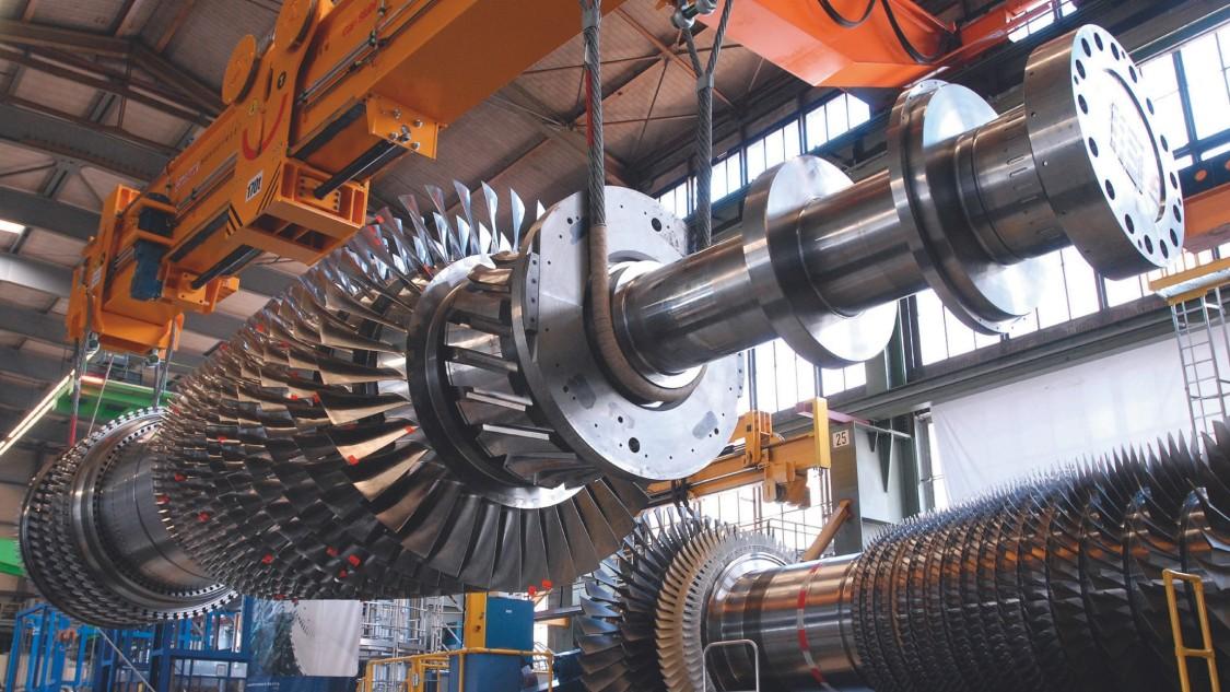 Turbina de gas SGT5-8000H