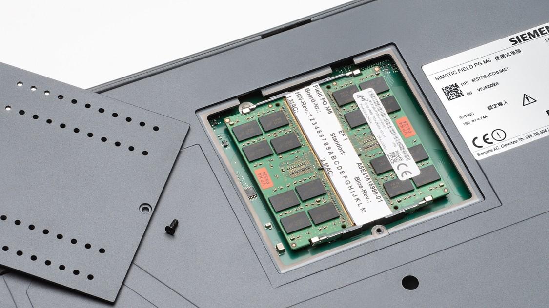 SIMATIC Field PG M6 RAM Module