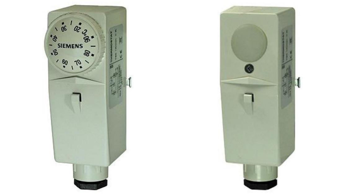 Bimetalové termostaty