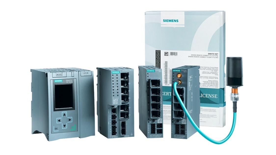 Abbildung von Komponenten für Netzwerksicherheit